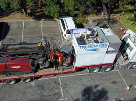 Ditch Witch JT3020 All Terrain Horizontal Directional Drill and Volvo Semitrailer  - picture17' - Click to enlarge