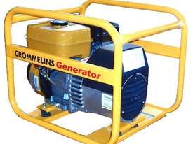 Crommelins 3kVA Generator Worksite Approved Petrol - picture1' - Click to enlarge