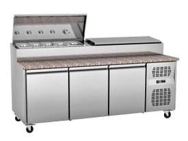 EXQUISITE COMMERCIAL KITCHEN SANDWICH/PIZZA PREPARATION CHILLERS - picture0' - Click to enlarge