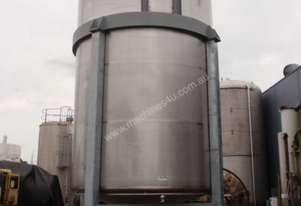 Stainless Steel Jacketed Mixing Tank, Capacity: 45,000Lt