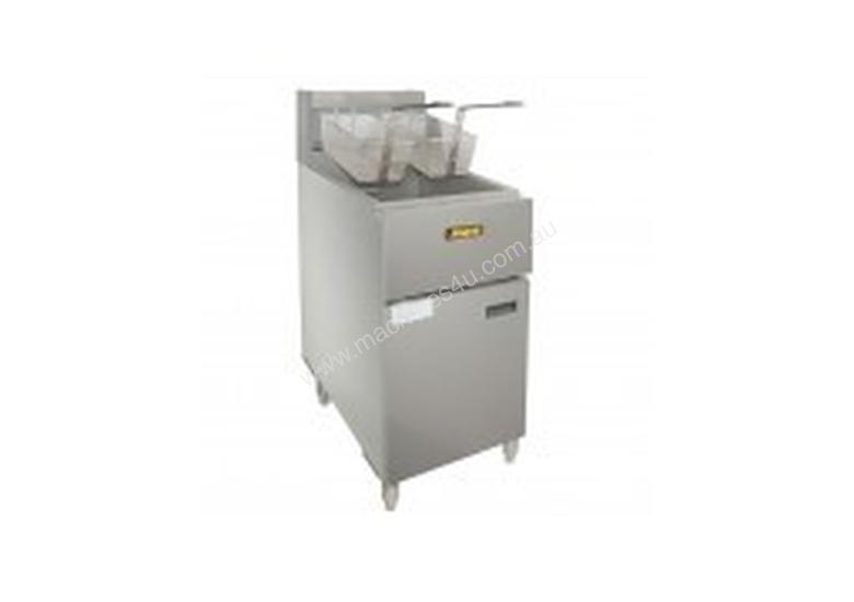 ANETS Stand Alone Gas Fryers - Split Pot - ASG14TS