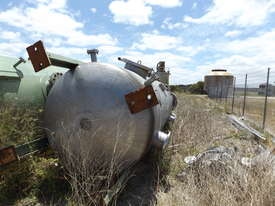 Stainless Steel Pressure Vessel Tank - picture1' - Click to enlarge