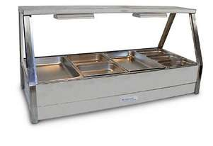 Roband E24RD Double Row Hot Food Display