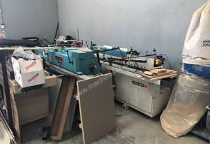Holzher Used edgebanders for parts