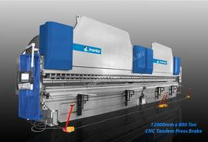 INANLAR CNC HAP 12200 x 800 Ton Tandem Press Brake