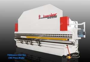 INANLAR CNC HAP 7500 x 350 Ton Hydraulic Press Brake