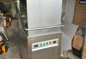 Commercial Pass-Through Dishwasher