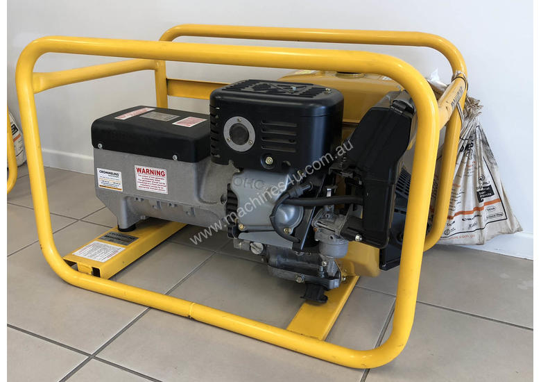 CROMMELINS P85E 8.5KVA PORTABLE HOME GENERATOR  ** IN STOCK NOW IN MACKAY **