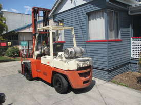 Nissan 4 ton LPG Dual wheels Used Forklift - picture3' - Click to enlarge
