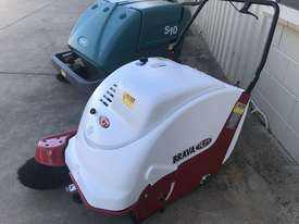 Used RCM Brava 900 Baterry Powered Walk Behind industrial Sweeper As Brand New  $ 5,500 + GST - picture0' - Click to enlarge