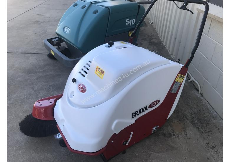 Used RCM Brava 900 Baterry Powered Walk Behind industrial Sweeper As Brand New  $ 5,500 + GST