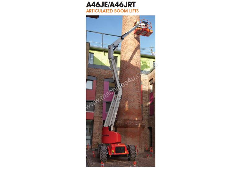 Snorkel 46ft Used Knuckle Boom Lift