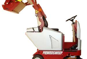 Powersweep PS120H Ride-on Sweeper