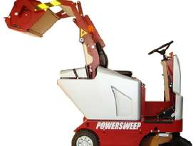 Powersweep PS120H Ride-on Sweeper - picture1' - Click to enlarge