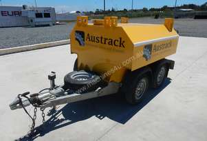 Austrack Twin Axle Trailer Fully Bunded Diesel Bowser
