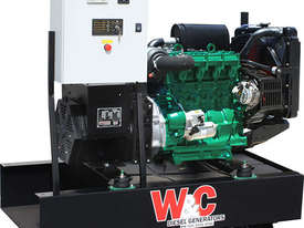 27.5kVA, 3 Phase, Standby Generating Set with Crossley Diesel Engine - picture0' - Click to enlarge