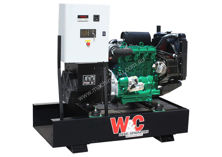 27.5kVA, 3 Phase, Standby Generating Set with Crossley Diesel Engine