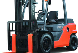 Toyota 3.5T Diesel Forklift for HIRE from $320pw + GST