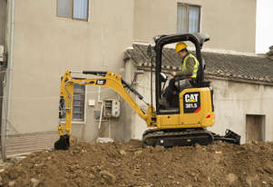 CAT 1.7 TONNE 301.5 MINI HYDRAULIC EXCAVATOR