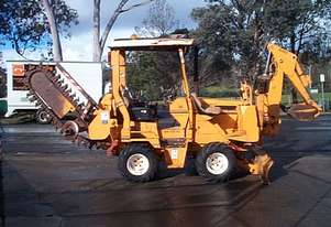 Z3500 trencher and B/hoe , ex telstra , 975 hrs ,