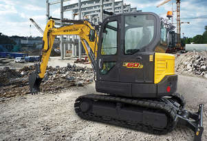 New Holland E60C Compact Excavator