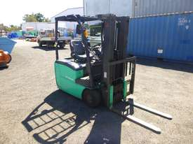 2017 Mitsubishi FB16-TCB Electric Container Mast Forklift - picture0' - Click to enlarge