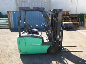 2017 Mitsubishi FB16-TCB Electric Container Mast Forklift - picture1' - Click to enlarge