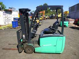 2017 Mitsubishi FB16-TCB Electric Container Mast Forklift - picture5' - Click to enlarge