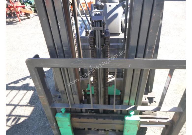 2017 Mitsubishi FB16-TCB Electric Container Mast Forklift