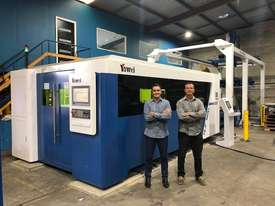Yawei high speed, high spec fiber lasers. 8kW SOLD after Austech to savvy Australian manufacturer. - picture0' - Click to enlarge