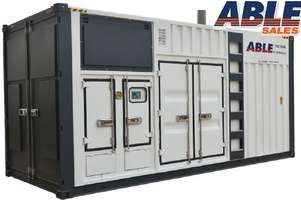 825 kVA Containerized Diesel Generator 415V - Cummins Powered