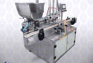 Flamingo Twin Head Automatic Piston Filler 300ml (EFPF-A2-300)