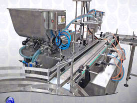 Flamingo Twin Head Automatic Piston Filler 300ml (EFPF-A2-300) - picture1' - Click to enlarge