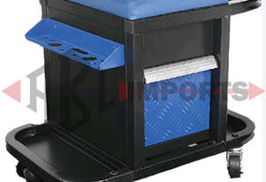 ROLLER SEAT 3 DRAWER WITH CAN HOLDERS