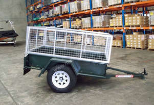6x4 Caged Trailer 3' Cage *BRAND NEW*