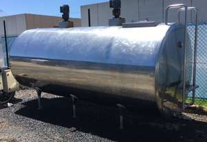 5,400ltr Jacketed Food Grade Tank