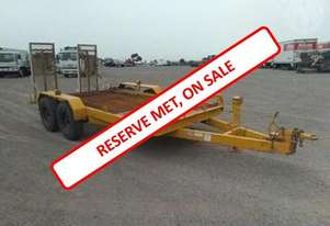 TAG Along Trailers Bogie Axle PIG