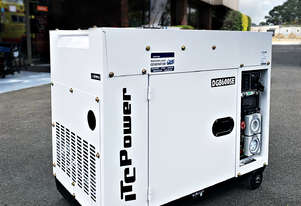 6.3kW ITC Power Silent Diesel Generator with Long Range Tank