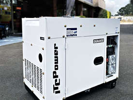 6.3kW ITC Power Silent Diesel Generator with Long Range Tank - picture0' - Click to enlarge