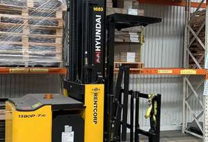 Hyundai 13BOP-7 Electric Order Picker Forklift- Low Hours