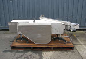 Stainless Steel Motorised Holding Conveyor