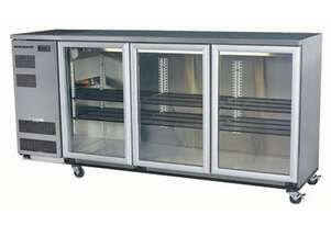 Skope BB580X 3 Glass Swing Door Fridge