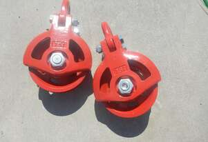 5 Ton Pulley (2 of), 7.5 Ton Pulley