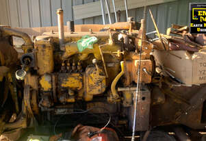 Caterpillar D2 5U Dozer disassembled, E.M.U.S MS684