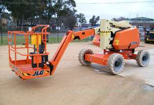 JLG 340AJ 34ft Articulating Boom Lift Hire Orange and Central West NSW Knuckle Boom