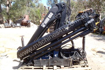 HIAB 060 Crane use - good condition