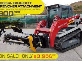 Hydraulic Trencher - 900MM DIG DEPTH SUIT loaders