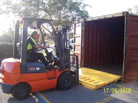 Container Ramp 6500kg Free Delivery Australia..