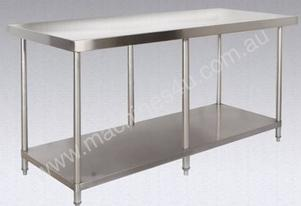 Brayco 3684 Wide Island Stainless Steel Bench (914