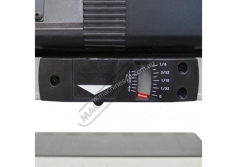 T-13A Bench Mount Thicknesser - HSS Blades 330 x 152mm (W x H) Material Capacity  Includes 2 x High